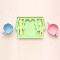 巴布豆PLA叉匙組(不含盤子杯子)