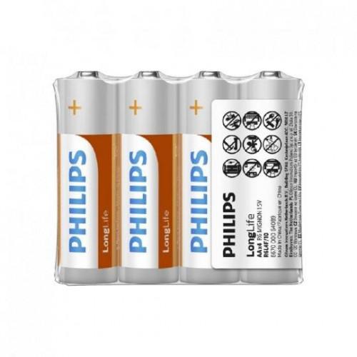 飛利浦3號碳鋅電池48入,適用於海豚寶寶